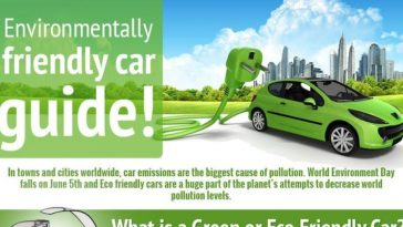 environmentally friendly car guide infographic 1
