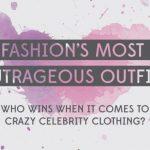 fashions most outrageous outfits infographic 1