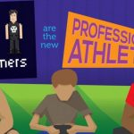 gamers are the new professional athletes infographic 1