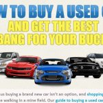 how to buy a used car infographic 1