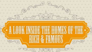 inside the homes of the rich and famous infographic 1