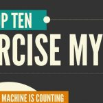 top 10 exercise myths infographic 1