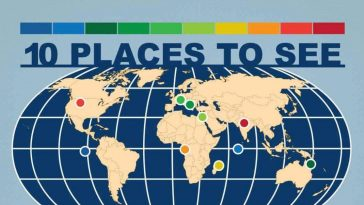 10 places to see before theyre gone infographic 1
