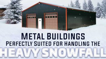 metal buildings perfectly suited for handling the heavy snowfall 2