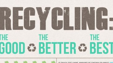 recycling the good the better and the best infographic 1