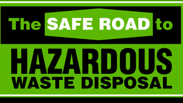 safe disposal of hazardous wastes infographic 1